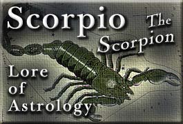 Scorpio Astrology - Earthlore Explorations - Lore of Astrology - Sun