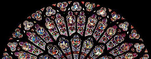 Rose Window Of The North Transept