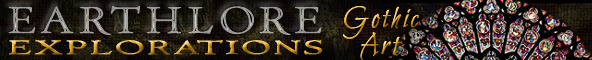 Earthlore Explorations Gothic Art Masthead