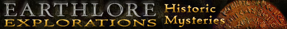 Earthlore Explorations Historic Mysteries Masthead
